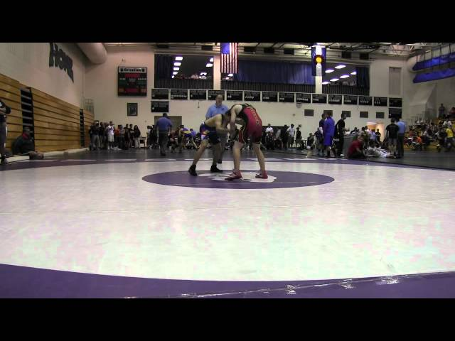 CUSAW 2012 Qualifier Cadet 120 Jones vs Ortiz