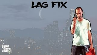 How to fix lag and stutter in GTA 5 on PC - Best Solution - Works for ANY game!