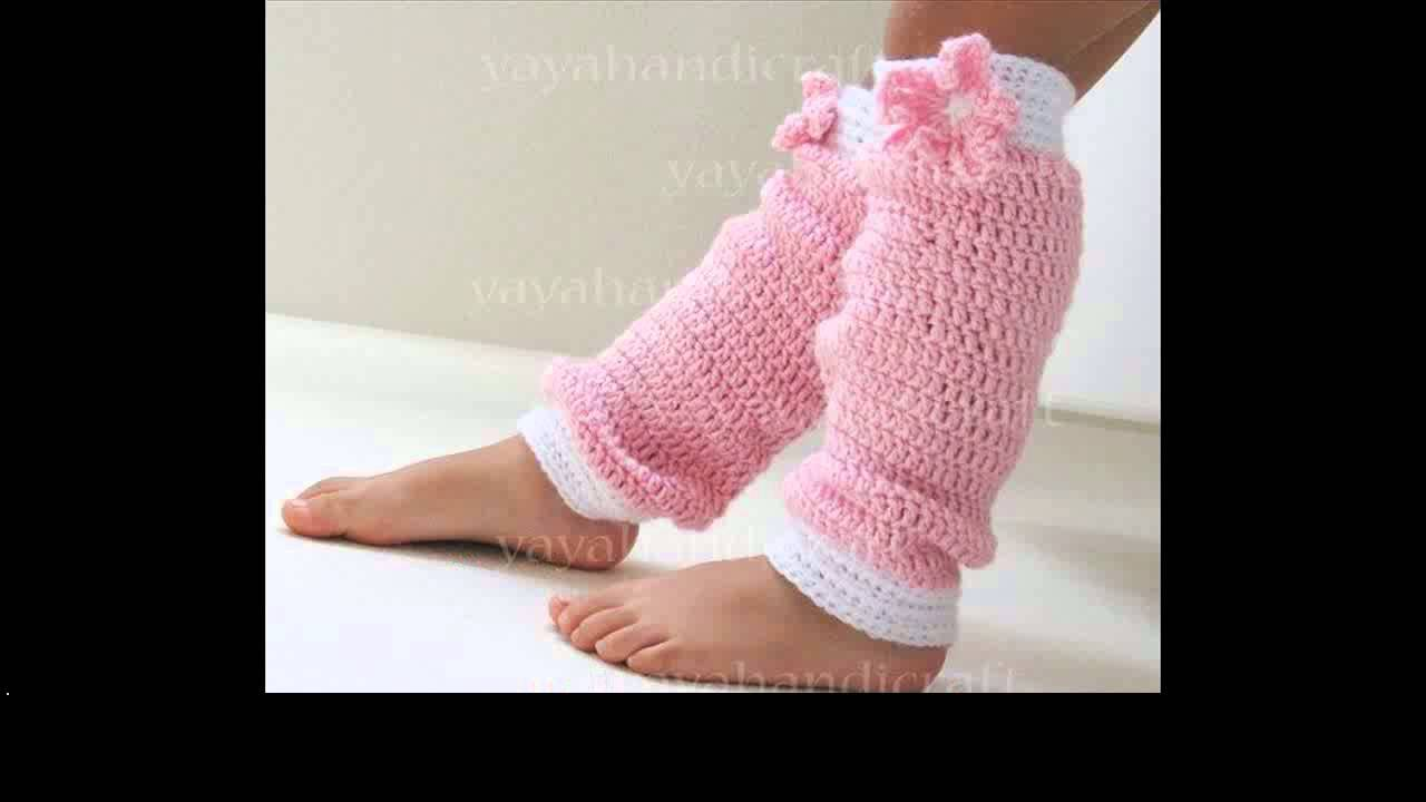 Free Crochet Pattern Leg Warmers Child : easy crochet leg warmers free patterns - YouTube