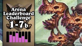 Hearthstone: Arena Leaderboard Challenge 1-7 - The Skeletal Trio's Journey - Part 2 (Rogue Arena)