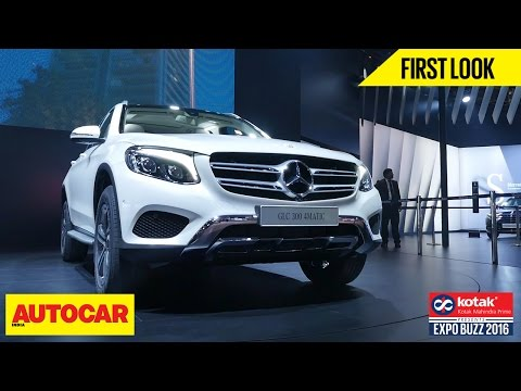 Mercedes-Benz GLC 300 4Matic | First Look | Autocar India | Presented By Kotak Mahindra Prime