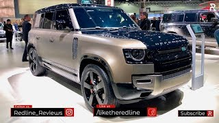 2020 Land Rover Defender – Redline: First Look – 2019 LA Auto Show