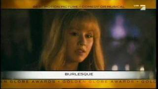 Burlesque Cher - Golden Globes Nomination Video (2011)