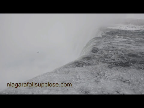 Will Gadd Tackles Niagara Falls Ice Formation