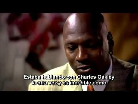 Michael Jordan Conversation/Interview Part 1 (subtitulos castellano español)