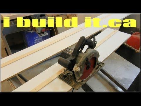 Making A Saw Board (DIY Track Saw)