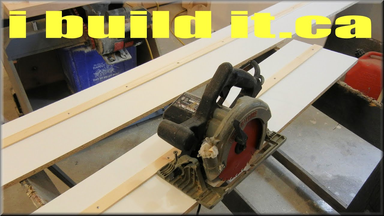 Making A Saw Board Diy Track Saw Youtube