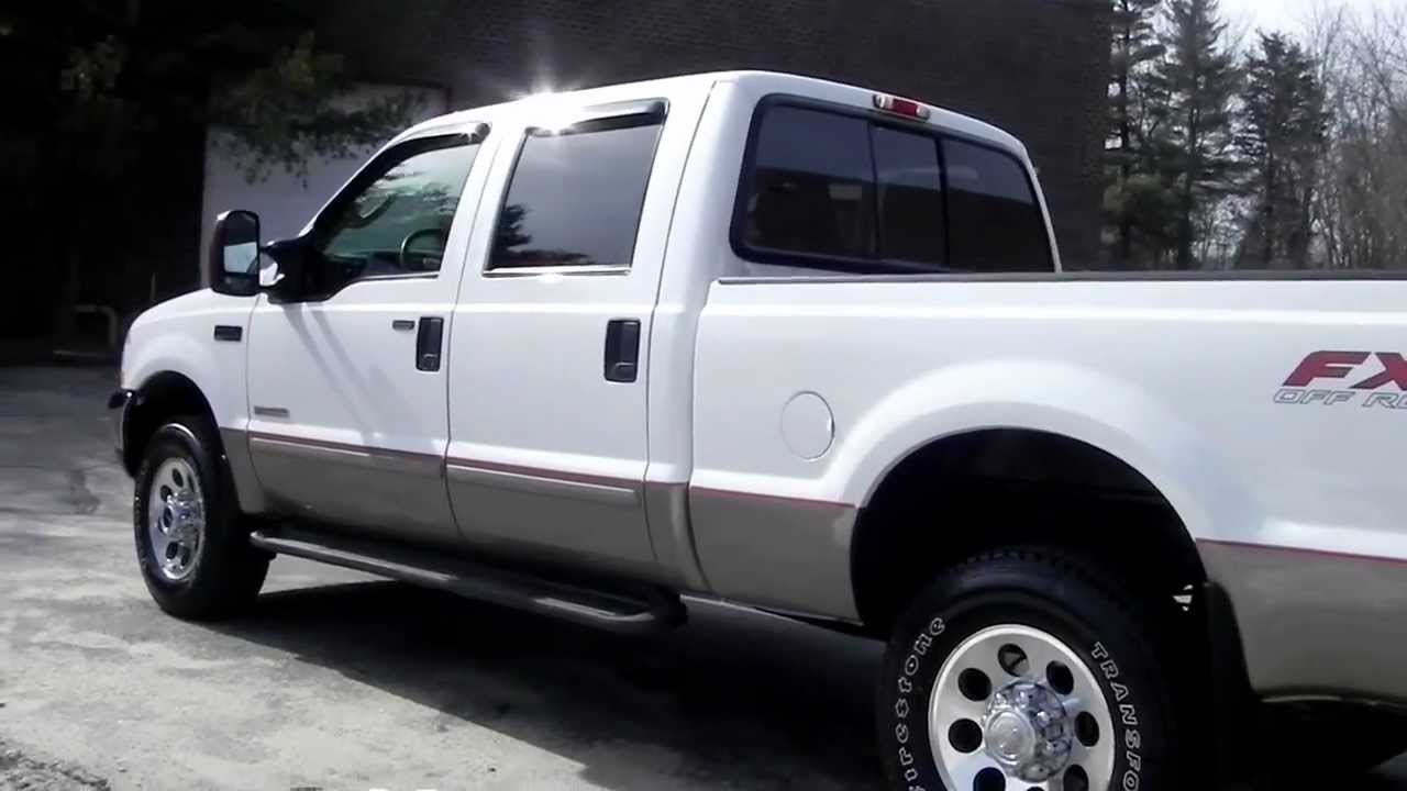 2004 Ford F350 Lariat 4 Door 4x4 Short Bed Sun Roof 6 0l Powerstroke Diesel Ac