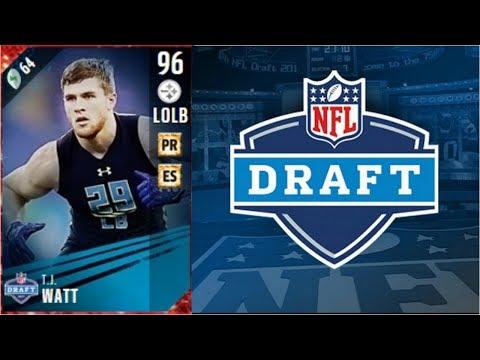 NFL Draft T.J Watt | Player Review | Madden 17 Ultimate Team Gameplay