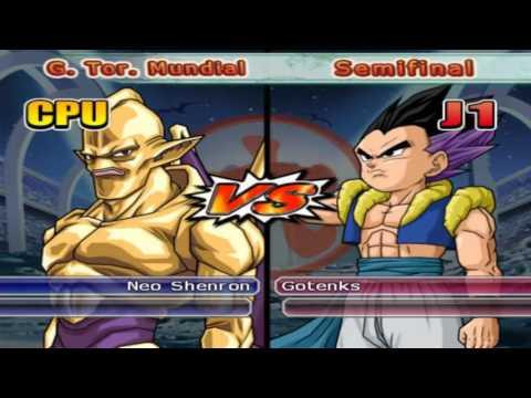 Dragon Ball Z Budokai Tenkaichi 3 -  World Tournament - Gotenks