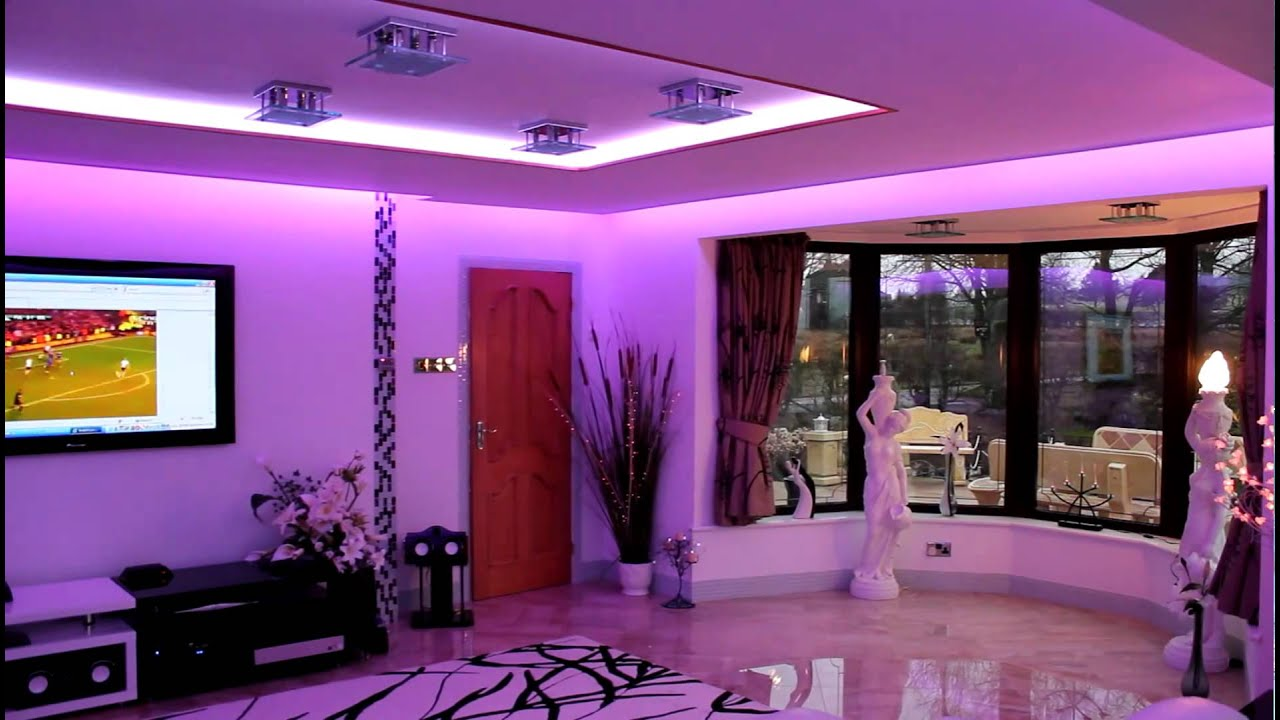 Iluminaci n interiores led youtube - Luces led para salon ...