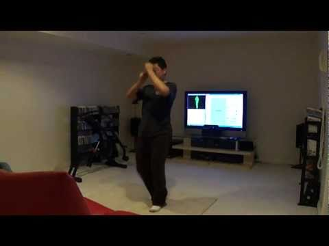 Thumbnail of video Kung Fu Tetris with Kinect and FAAST
