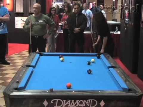 Cristina De La Garza Posion Billiards Challenge Match Video