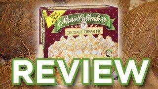 Marie Callender's Coconut Cream Pie Video Review: Freezerburns (Ep500)