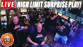 🔴LIVE Just Landed in Reno 🎰 Surprise HIGH LIMIT Slot Play!