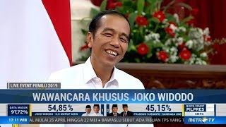 Wawancara Khusus Joko Widodo Setelah Menang Quick Count