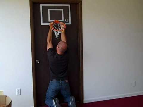 Doing Pull Ups On Mini Basketball Hoop Do Not Attempt Youtube