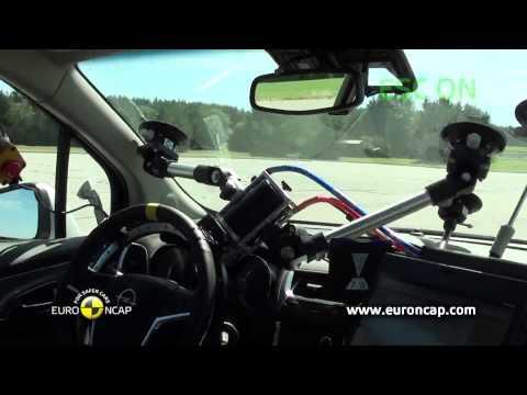 Euro NCAP | Opel/Vauxhall Mokka | 2012 | Электронный контроль устойчивости
