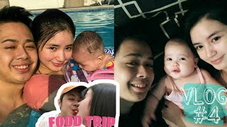 Vlog 4 | Baby's 1st swimming + Food trip