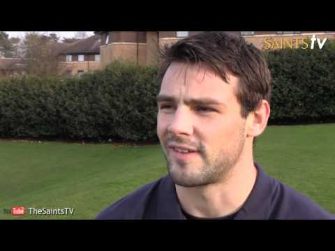 Foden previews Saints vs Saracens this weekend - Foden previews Saints vs Saracens this weekend