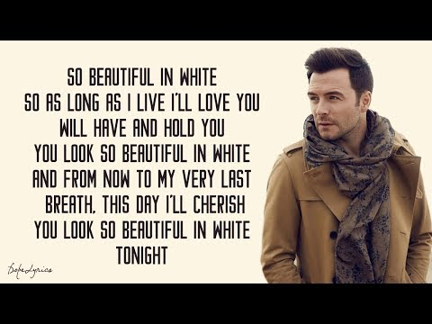Beautiful In White - Shane Filan (Lyrics) 🎵