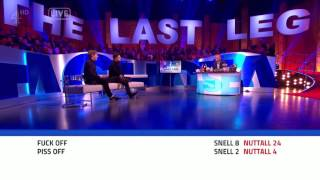 *VERY STRONG LANGUAGE* Nuttall vs. Snell: Twitter Abuse - The Last Leg
