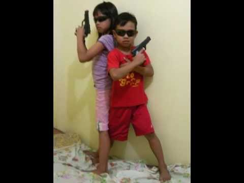 kids in action james bond weapons family fun time