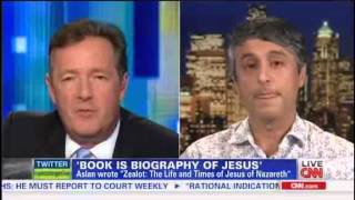 Reza Aslan Tells Piers Morgan He Was