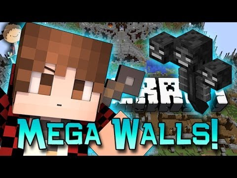 Minecraft: MEGA WALLS! w/Mitch & Friends Part 1 - Prepare for Battle!