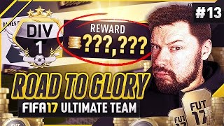 DIVISION 1 REWARD! - #FIFA17 Road to Glory! #13