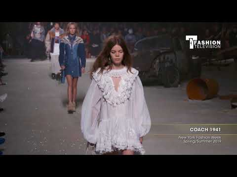 COACH 1941 New York Fashion Week Spring/Summer 2019