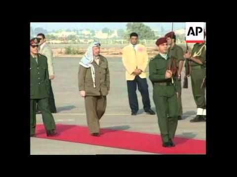 GAZA: INTERNATIONAL AIRPORT OPENS