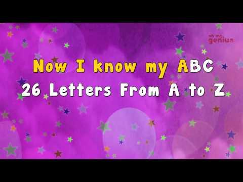Karaoke - ABC Song | Alphabet Song | Phonic Song | Karaoke Songs