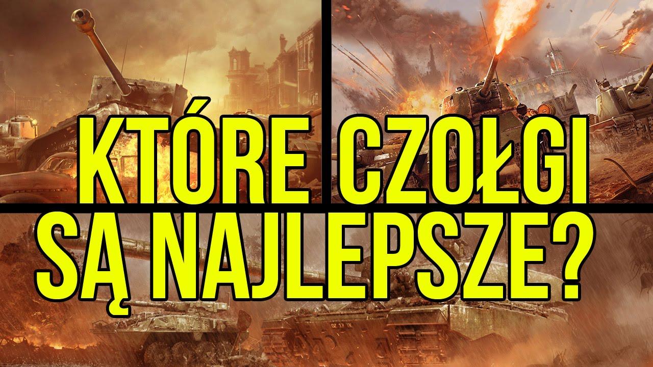 Która gra o czołgach jest najlepsza? WoT vs War Thunder vs Armored Warfare [tvgry.pl]