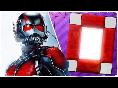HOW TO MAKE A PORTAL TO THE DIMENSION OF ANT-MAN - MINECRAFT