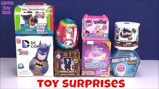 Unboxing Toy Surprises Puppy Dog Pals Disney Happy Places Monster High Minis Blind Boxes Fun Kids