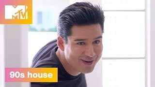 'Mario Lopez' Official Sneak Peek | 90's House: Hosted by Lance Bass & Christina Milian | MTV