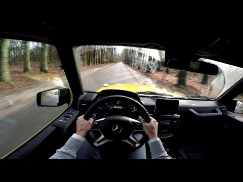 POV Drive: Mercedes-Benz G 63 AMG Crazy Color Edition