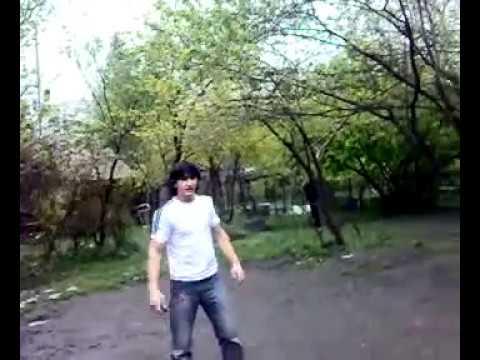 Azeri Akrobat ( Sabir Qaxli) -Telefonla super hereketler- qax qax