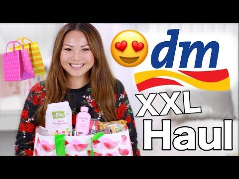 XXL dm Haul Oktober 2017 | Drogerie Neuheiten & Favoriten | Mamiseelen