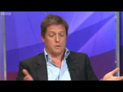 Question Time - Hugh Grant & Jon Gaunt Row -