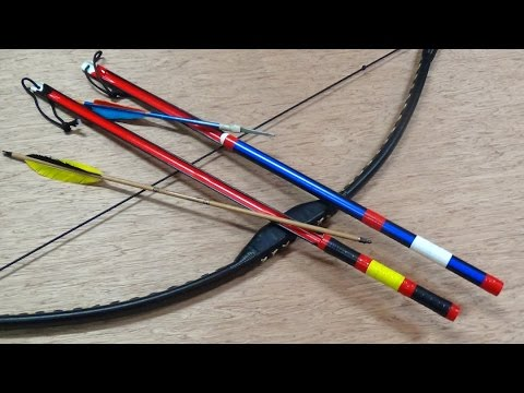 Shooting Short Arrows With Experimental PVC Overdraws