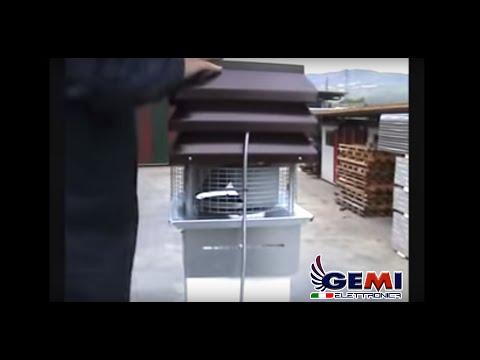 montaggio aspiratore elettrico gemi