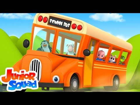 Wheels On The Bus | Nursery Rhymes | Children Rhyme | Baby Songs