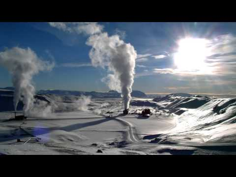 Geothermal Energy Production From Underground Lava Beds