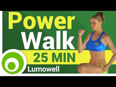 Ejercicios Power Walk para Bajar de Peso  - 30 Minutos de Cardio para Adelgazar