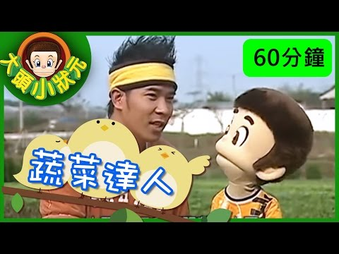 台灣-大頭小狀元-EP 004 蔬菜 、 菱角達人