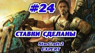 Starcraft II Компания Терранов на Эксперте #24 Ставки сделаны