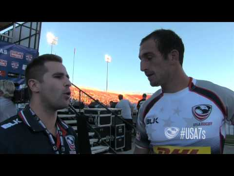 Zack Test post-game vs. Japan - USA Sevens