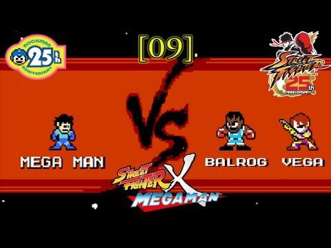 [09] Street Fighter X Mega Man - Shadaloo; Balrog and Vega
